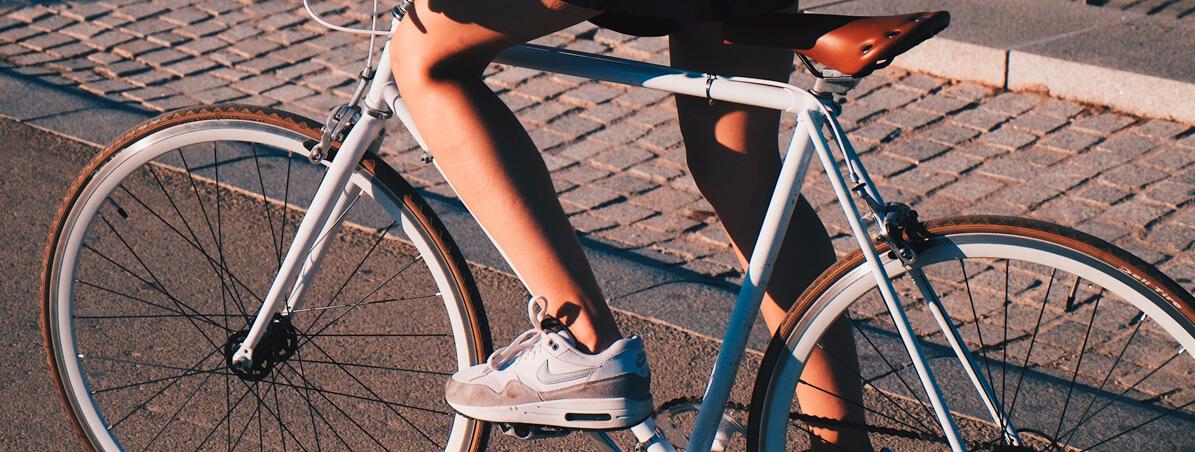 Troque o carro por pedaladas e caminhadas
